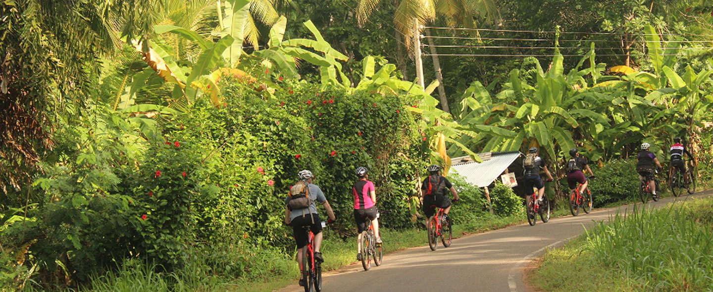 Sri Lanka Coast to Coast Cycling Tour