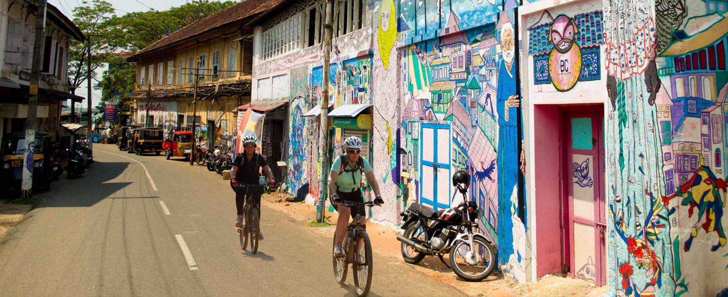 Exploring Fort Cochin on Cycles