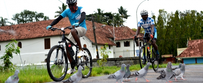 Fort Cochin Cycling