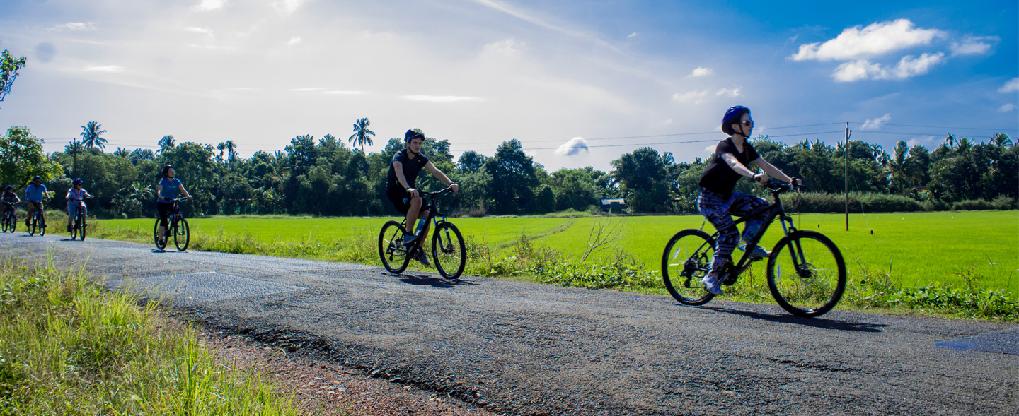 Explore Kerala's off roads on your cycles