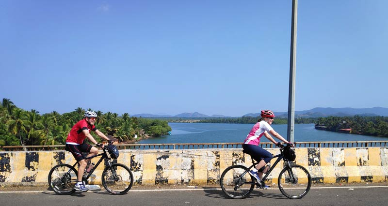 45 DAYS CYCLING IN SOUTH INDIA